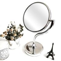 블랑블랙 S라인 원형 스탠드 거울