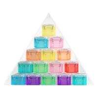 [리얼리유즈풀박스] 피라미드 라지 정리함