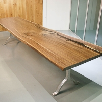 북미산 월넛 우드슬랩 015_North America Walnut Wood Table 015