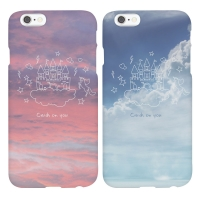 'YEAJIN' 문구제작 SWEET CLOUD(2TYPE) ROUND CASE