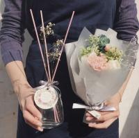 천일동안 지속되는 꽃다발 & 디퓨져 - 카네이션
