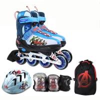디즈니 어벤져스 인라인세트 인라인+헬멧+보호대+가방