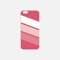 삼색이 핑크 필름케이스