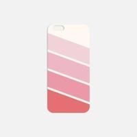 오색이 핑크 필름케이스