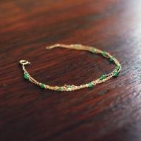 에메랄드, everlasting green 브레이슬릿