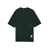 [HNK] Chest Pocket Boxy S/S Tee OVERSIZE FIT(GREEN)_(389134)