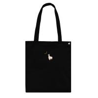 llama cotton bag