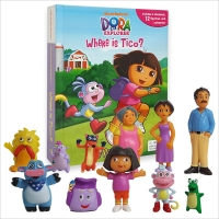 DORA THE EXPLORER WHERE IS TICO : MY BUSY BOOK