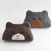 포비+곰동전지갑만들기+블랙 or 브라운