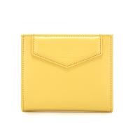 버밀란 스냅 반지갑 - 레몬 옐로우