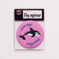 TIN MIRROR_DOLPHIN