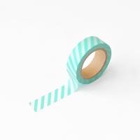 왈가닥스 오블리크 마스킹테이프 - 171 Mint Oblique