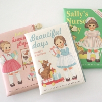 paper doll mate book pouch. S