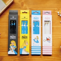 앨리스 4본 연필세트_(674656)