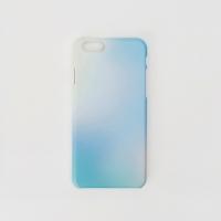 Afterimage phone case blue