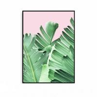 보타니컬액자 나뭇잎 야자수 그림 식물 메탈 모던