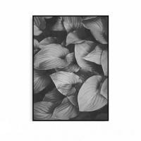 식물액자 나뭇잎 꽃그림 메탈 모던 인테리어
