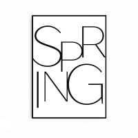 미니멀 북유럽 타이포 거실액자 봄 SPRING