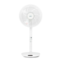 emk 초미세풍 에코 선풍기 WSD-F1251 리모컨/초절전/높이조절