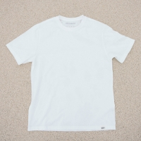 [Organic cotton] Solid White ivory (발목양말 증정)