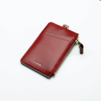 Ane ZIP CARD HOLDER_RED