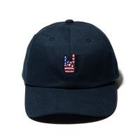 FLAG BALL CAP - NAVY_(835904)