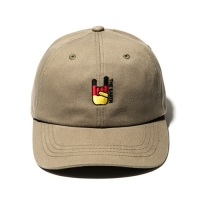 FLAG BALL CAP - KHAKI_(835905)