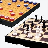 [명인바둑] 중형 자석 체스+장기(양면) M-259 /보드게임_(1517811)