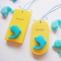 돌고래 비누-블루