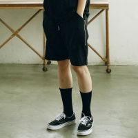 [매스노운] Unisex Zipper Short Pants