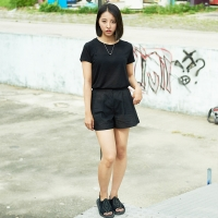 Soft Slub T-Shirt (Black)