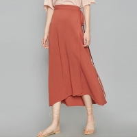 strap wrap long skirt (3 colors)_(366278)