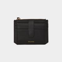 [살랑]Dijon 301S Flap mini Card Wallet black