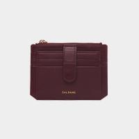 [살랑]Dijon 301S Flap mini Card Wallet burgundy