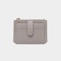 [살랑]Dijon 301S Flap mini Card Wallet light grey