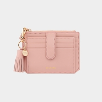 [태슬증정][살랑]Dijon 301S Flap mini Card Wallet light pink