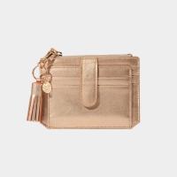 [태슬증정][살랑]Dijon 301S Flap mini Card Wallet rose gold