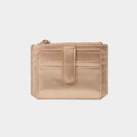 [살랑]Dijon 301S Flap mini Card Wallet rose gold