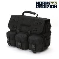 웍스페디션 제네바 전술 노트북 가방(BLACK )