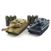 [2.4GHz]배틀탱크 세트 RC TIGER vs M1A2(YAK139000SET)