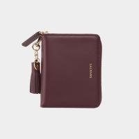 [태슬증정][살랑]Dijon 301 Layer ZIpper Wallet burgundy