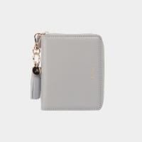 [태슬증정][살랑]Dijon 301 Layer ZIpper Wallet light grey