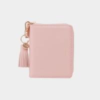 [태슬증정][4/24 출고]Dijon 301 Layer ZIpper Wallet light pink