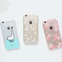 CLEAR HARD CASE - iPhone 6/6S