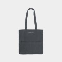 [살랑] Rosette Flap Pocket bag charcoal