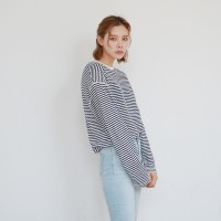 Natural stripe tee