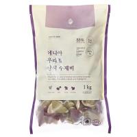 [네니아]우리밀 삼색 수제비 1kg_(379871)