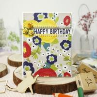 [생일카드] HAPPY BIRTHDAY (3roses)