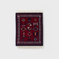 [CoasterRug] 코스터 러그 Coaster Rug 4pcs - Early turkman