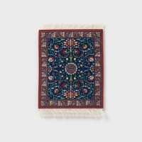 [CoasterRug] 코스터 러그 Coaster Rug 4pcs - William morris